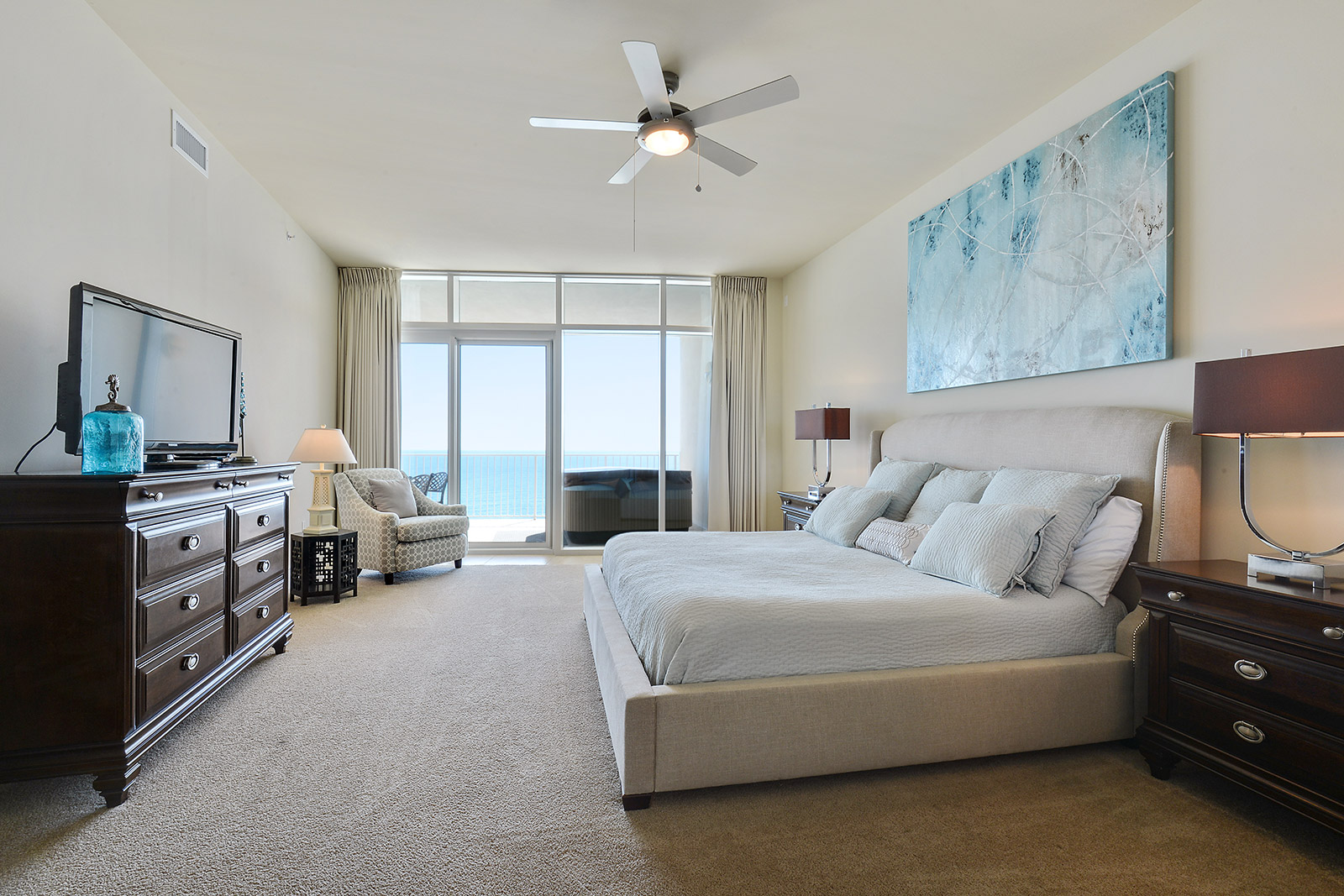 Turquoise Place Orange Beach Master Bedroom